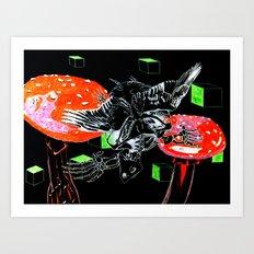 Koopa Troopa Art Print
