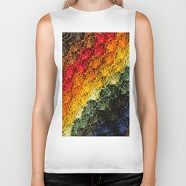 Intertwined colors Biker Tank