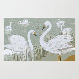 Swan song Rug