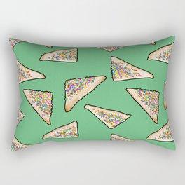 Fairy Bread in Green, Aussie 90s birthday party Rectangular Pillow