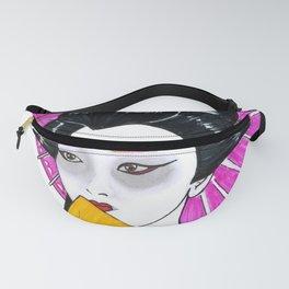 Geisha Woman Art Fanny Pack