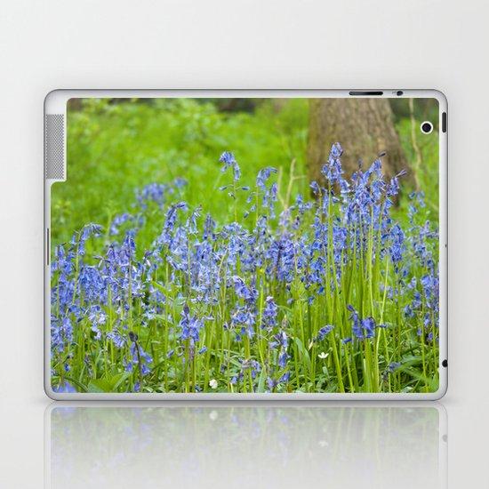 Bluebell woodland Laptop & iPad Skin