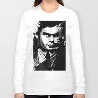 dexter Long Sleeve T-shirts featuring Dexter by RebeccaWeaver