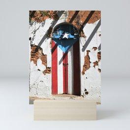 Puerto Rico Flag  ,pride Mini Art Print