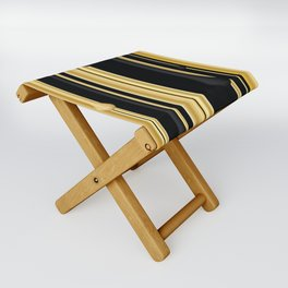 DRIPPING IN GOLD Folding Stool