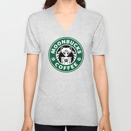 Moonbucks Coffee Unisex V-Neck