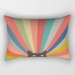Cat Landscape 48 Rectangular Pillow