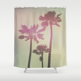 Californian Palm Trees Shower Curtain
