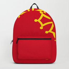 Flag of occitanie Backpack