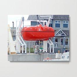 Lifeboat Trainer Metal Print