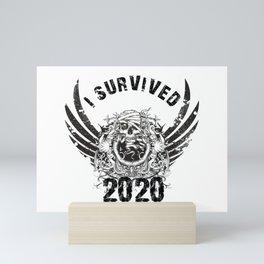 I Survived 2020 Mini Art Print