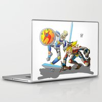 medieval Laptop & iPad Skins featuring Medieval by Mauro Squiz Daviddi