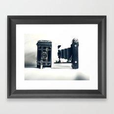 Antique Cameras Framed Art Print