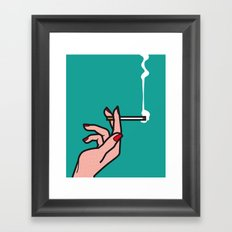 Pop Icon - Madmen 1 Framed Art Print