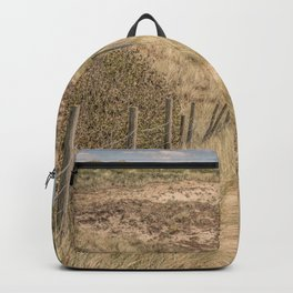 Path in the dunes Backpack