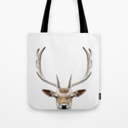 Deer Head Tote Bag