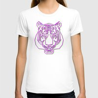 rave T-shirts featuring Tiger Rave by James Thornton