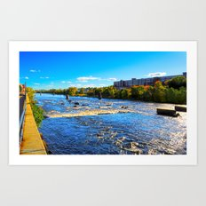 Merrimack River Art Print