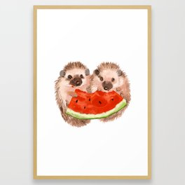 Sharing Framed Art Print