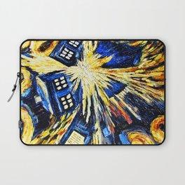 Tardis By Van Gogh - Doctor Who Laptop Sleeve