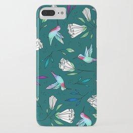Hummingbird Garden iPhone Case