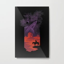 Final Frontiersman II Metal Print