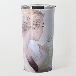 Dream of gentleness - princess in royal garden Travel Mug