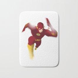 The Flash minimalist Splash Poster Bath Mat