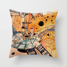 Where would you like to start? Throw Pillow