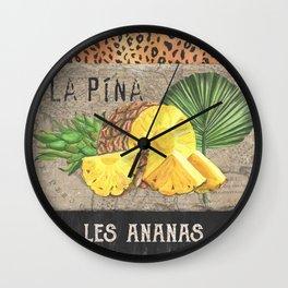 Tropical Palms 4 Wall Clock
