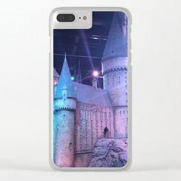 Hogwarts Model Clear iPhone Case