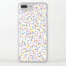 Speckled Clear iPhone Case