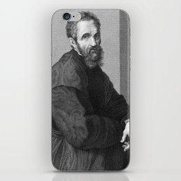 Michelangelo iPhone Skin