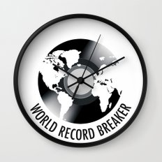 World Record Breaker Wall Clock