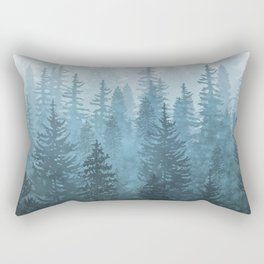 My Misty Secret Forest Rectangular Pillow