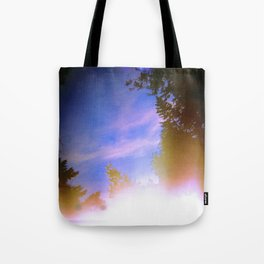 Leaking Light (One) Tote Bag
