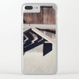 joinery Clear iPhone Case