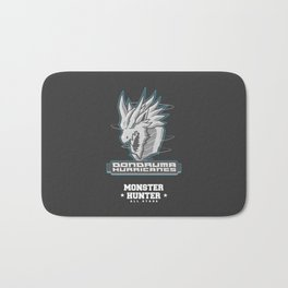 Monster Hunter All Stars - The Dondruma Hurricanes Bath Mat