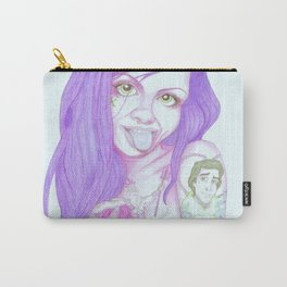 Mermaid (Purple) Carry-All Pouch