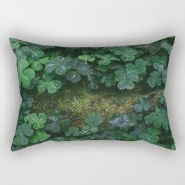 redwood forest clovers Rectangular Pillow