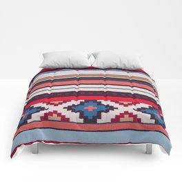 (N21) Moroccan Bohemian Colored Oriental Traditional Artwork Comforters
