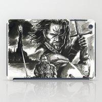 aragorn iPad Cases featuring Aragorn by Juan Pablo Cortes