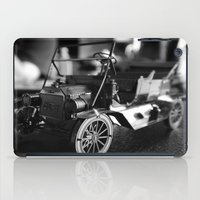 model iPad Cases featuring Model-T model car by Alma Vargas
