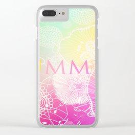 FESTIVAL PRISMATIC SUMMER RAINBOW Clear iPhone Case