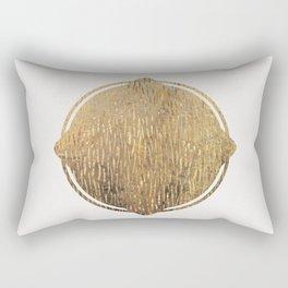Gold Squircle Rectangular Pillow