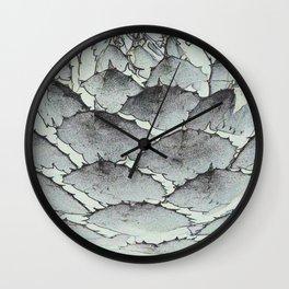 Aloe Vera Abstract Wall Clock