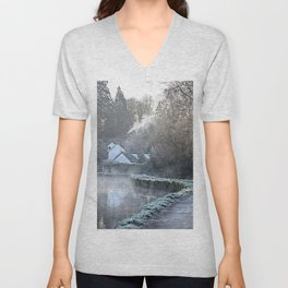 Causeway To The Chequers Unisex V-Neck