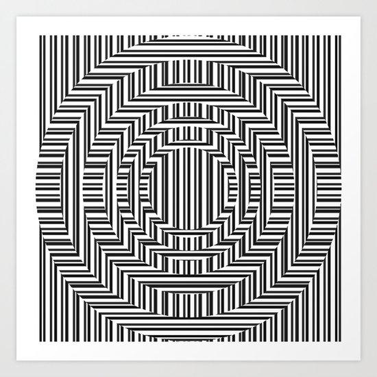 optiek. Art Print
