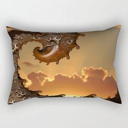 Golden Sunrise in Byron Bay Rectangular Pillow