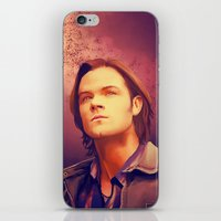 sam winchester iPhone & iPod Skins featuring Sam Winchester - Supernatural by KanaHyde